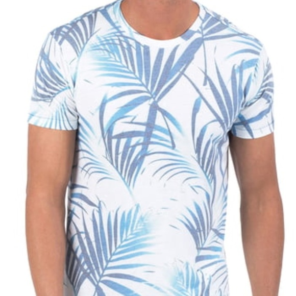Sol Angeles Other - Sol Angeles Las Brisas Graphic T-Shirt Blue White